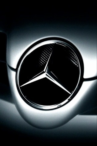 Mercedes Logo Iphone Wallpaper Downloadiphone Wallpaper 320x480