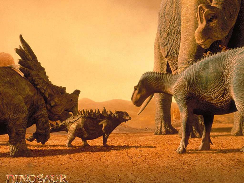 Dinosaures Wallpapers 1024x768