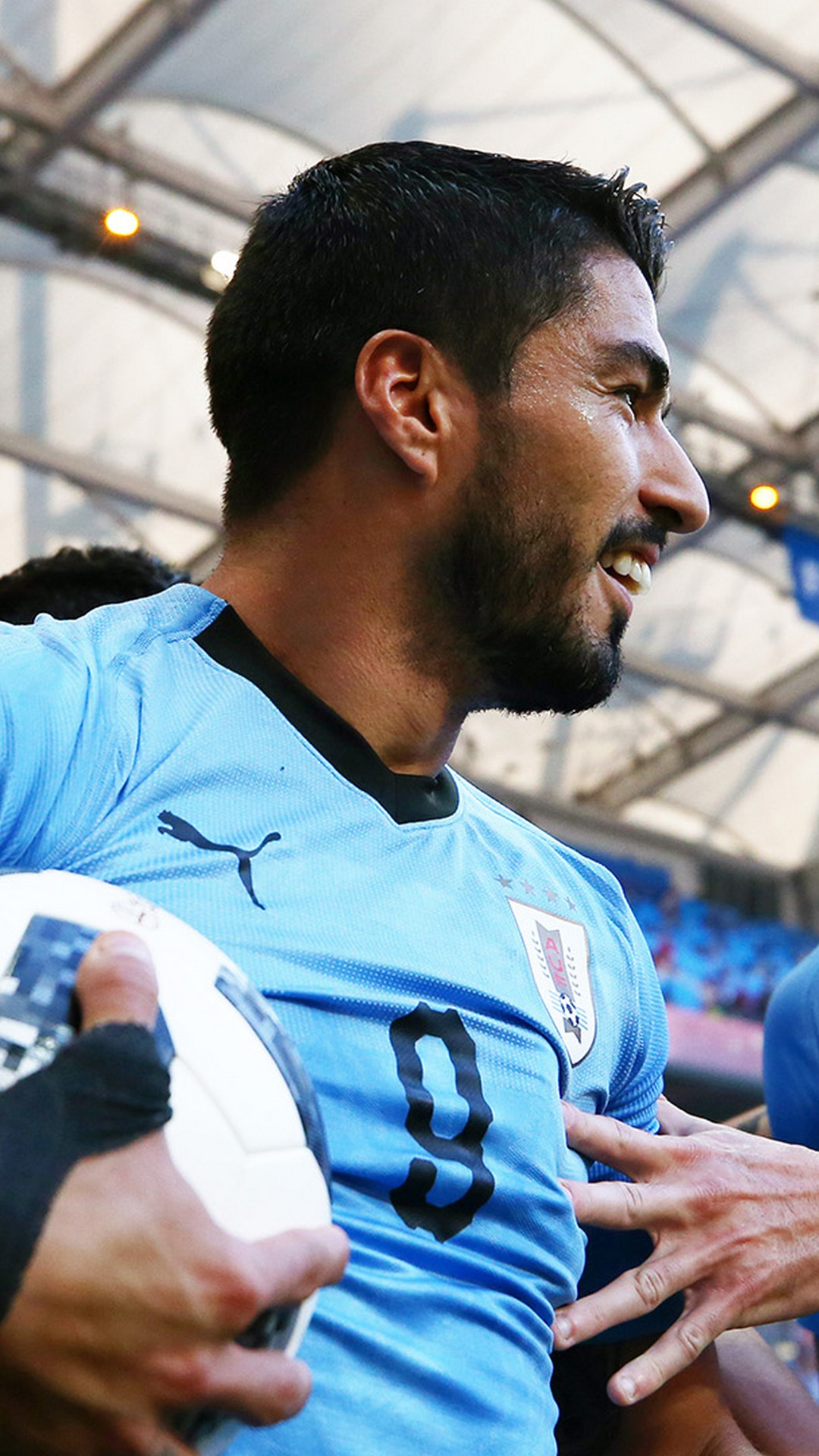 iPhone X Wallpaper Luis Suarez Uruguay 2019 3D iPhone Wallpaper 1080x1920