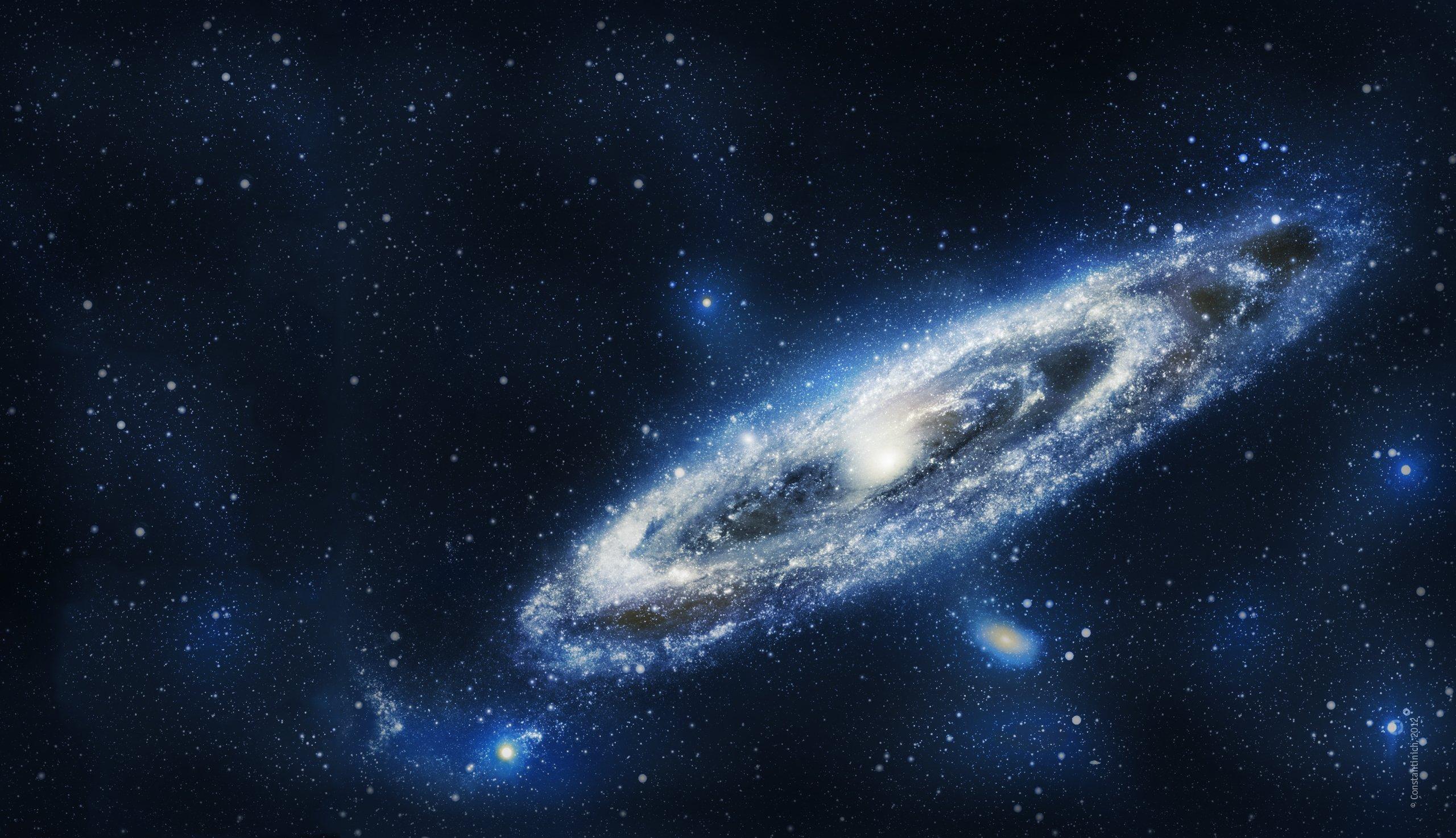 Andromeda Galaxy 2560x1474