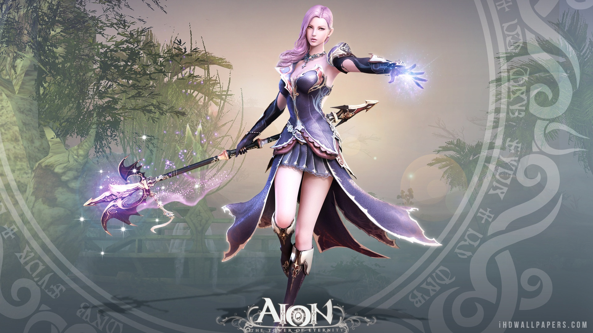 Aion Game Girl HD Wallpaper   iHD Wallpapers 1920x1080