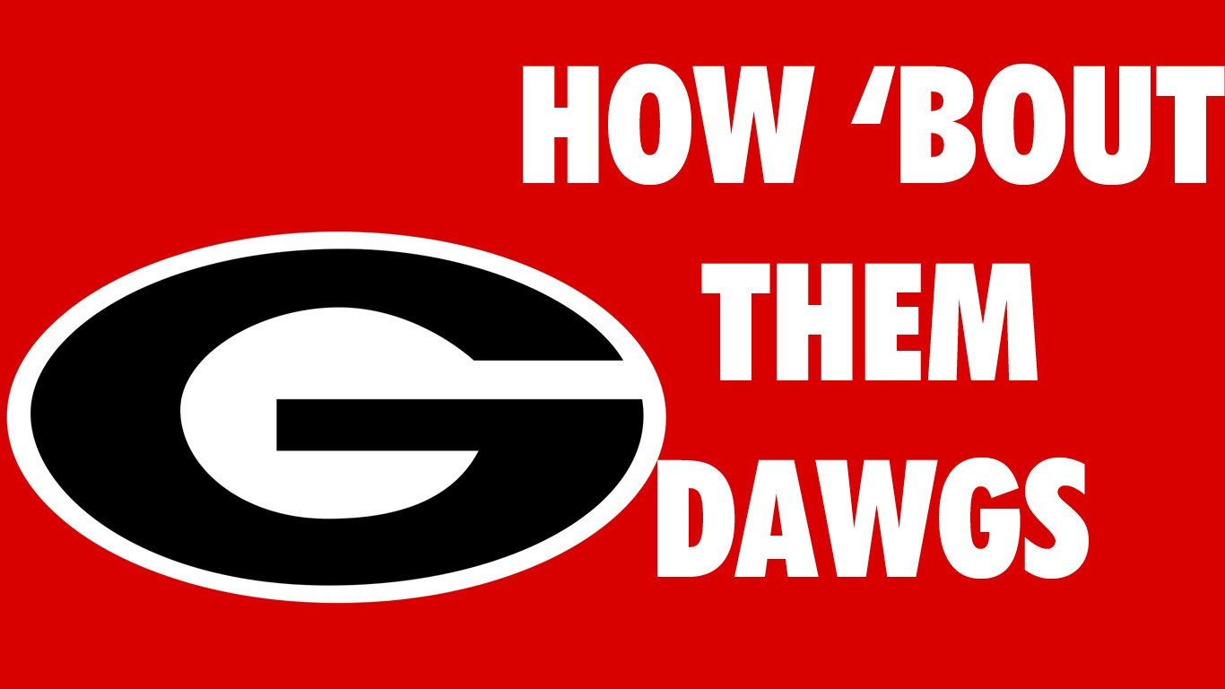 Georgia Bulldog Wallpapers Browser Themes More 1366x768