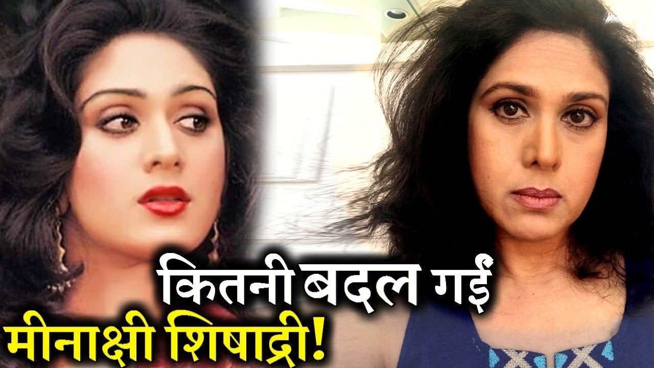 Evergreen actress Meenakshi Seshadri latest pictures getting viral 1280x720