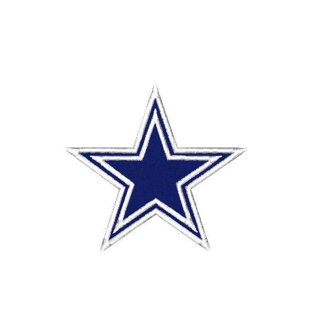 Dallas Cowboys Star Logo 607x650