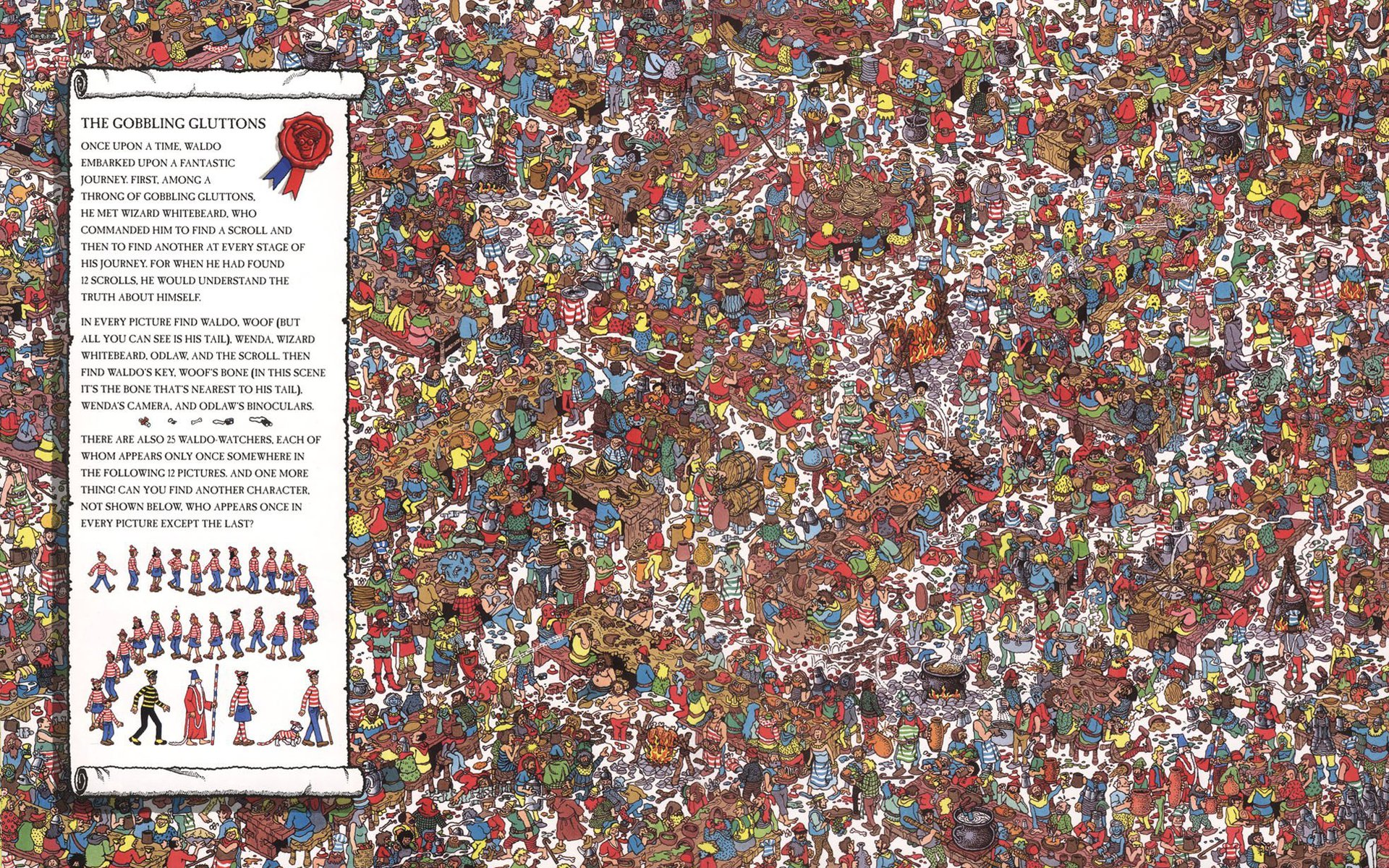 Waldo Wallpaper 1920x1200 Waldo 1920x1200