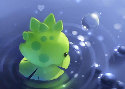 Cute Dino Wallpaper for Pinterest 500x357