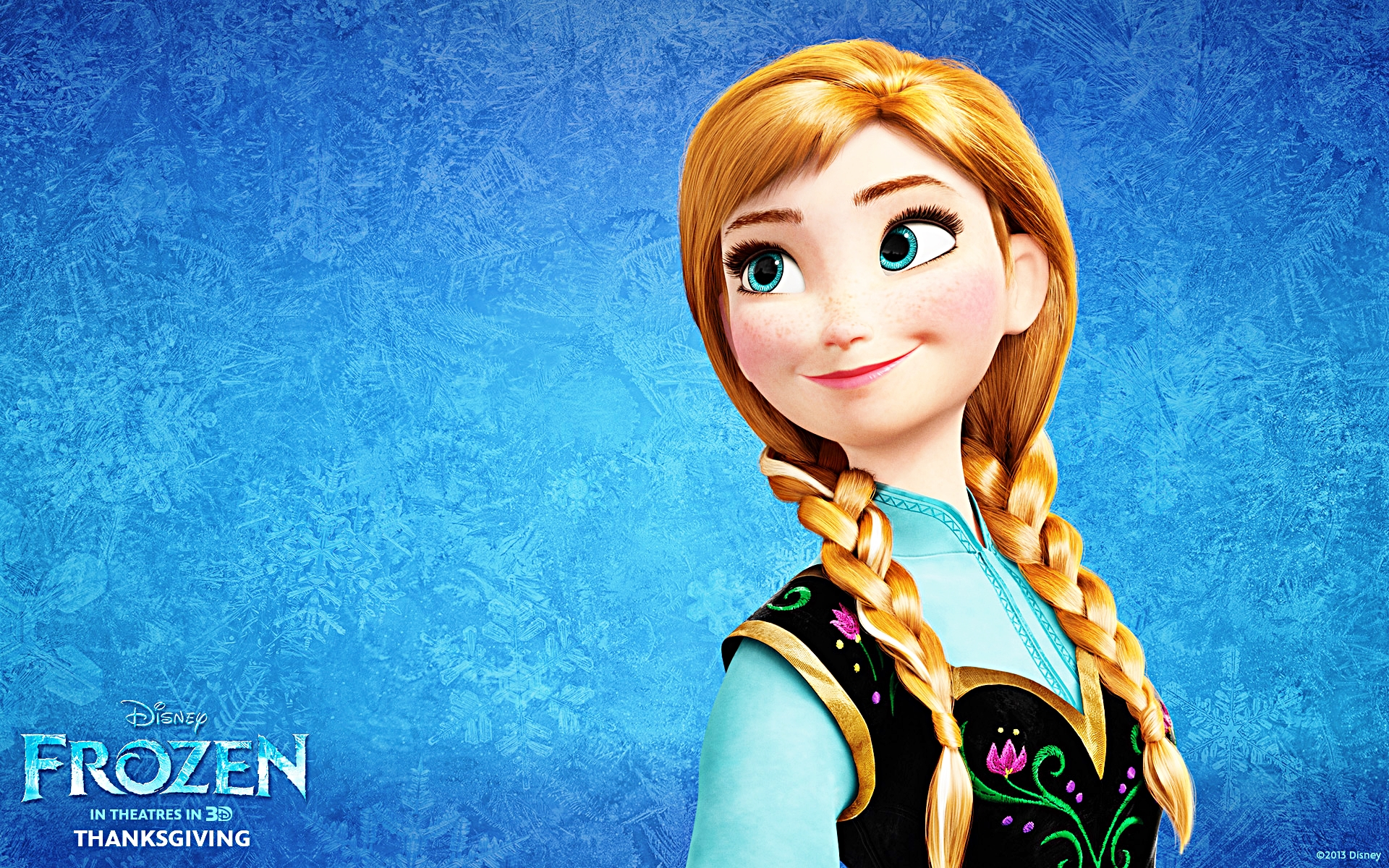 Walt Disney Wallpapers   Princess Anna   Walt Disney Characters 1920x1200