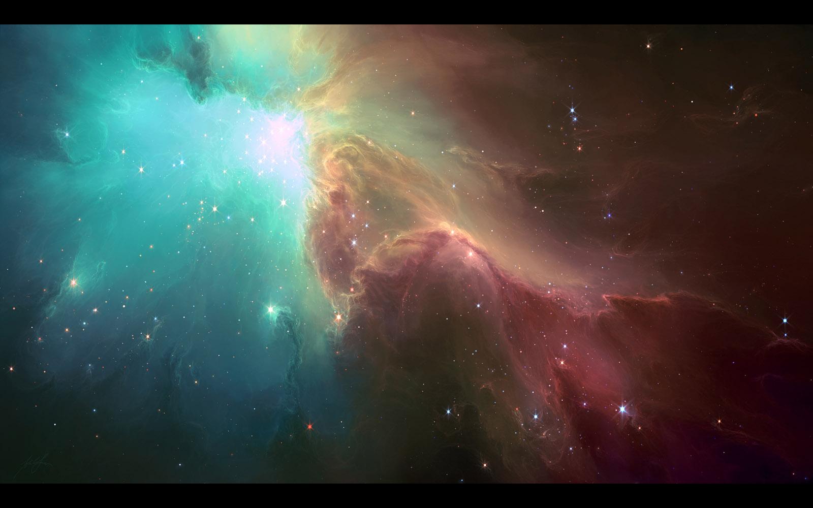 Nebula Galaxy Wallpaper   Download Wallpaper 1600x1000