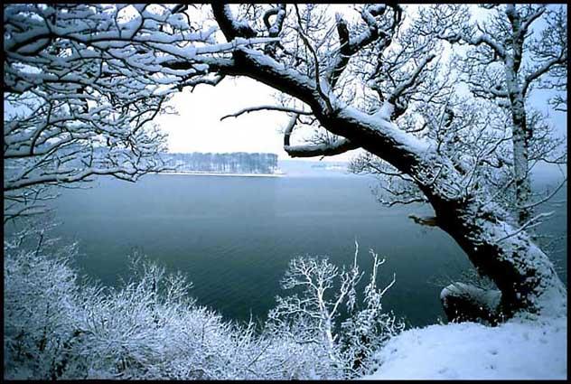 Winter view from island Fyntowards island Fn and island Fan Kalv 632x425