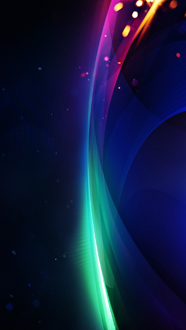 Light And Shadow Flowing Color 640x1136 pixel 3d HD Wallpaper 5727 640x1136
