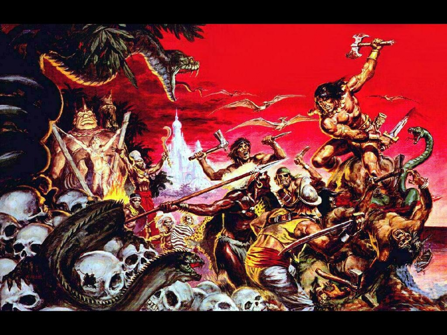 conan the barbarian Computer Wallpapers Desktop 1440x1080