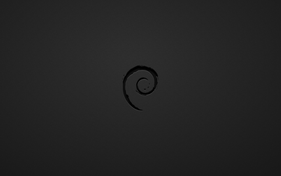 Debian Black White Wallpaper by thales img 900x563