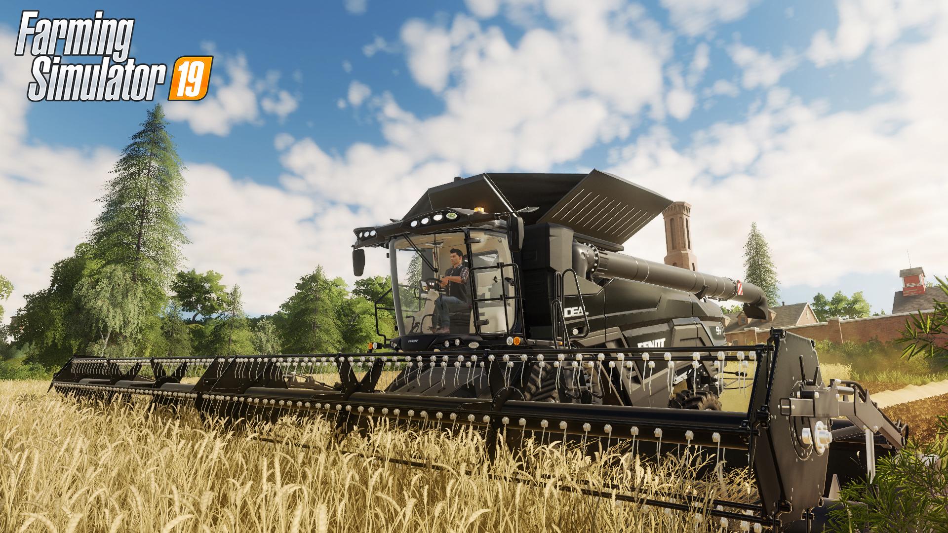 Farming Simulator 19 Background Image In HD PaperPull 1920x1080