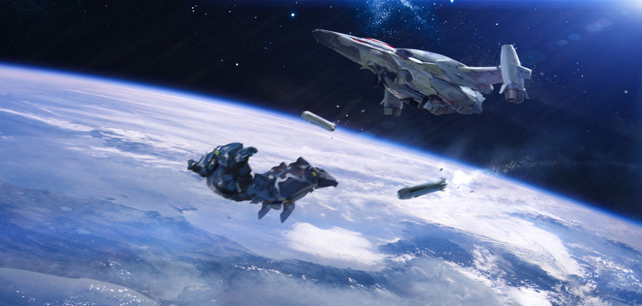 amazing space jump background hd wallpapers wallpapers55com   Best 1280x610