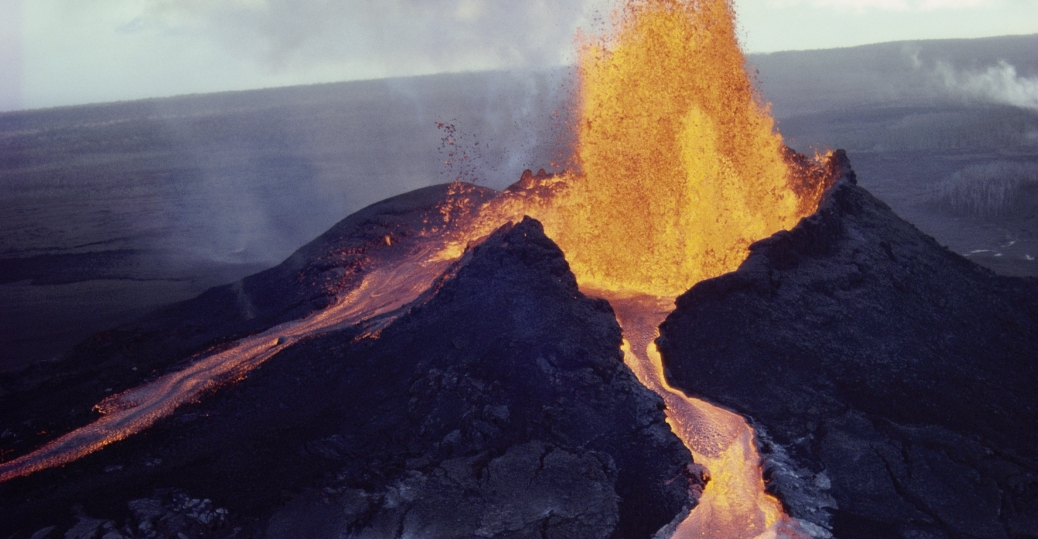 the mauna loa volcano Mauna loa volcano is one of five volcanoes that form the island of hawaii in the pacific ocean mauna loa has is the world's largest subaerial, its most.