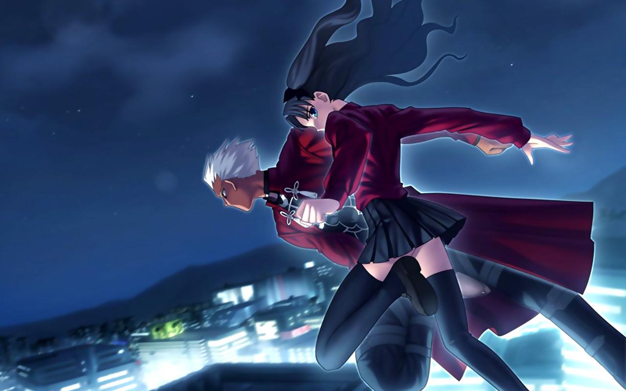 Archer and Rin Tohsaka   Fate Stay Night wallpaper 4627 1280x800