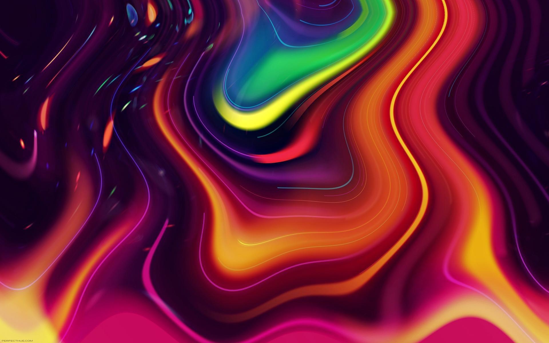 Hasil gambar untuk abstract psychedelic Abstract Bright 1920x1200