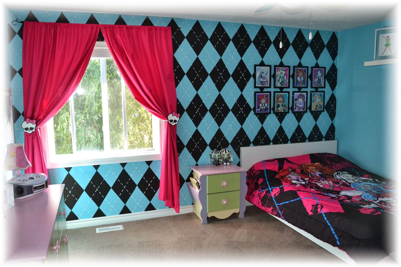 42 Monster High Wallpaper For Bedroom On Wallpapersafari