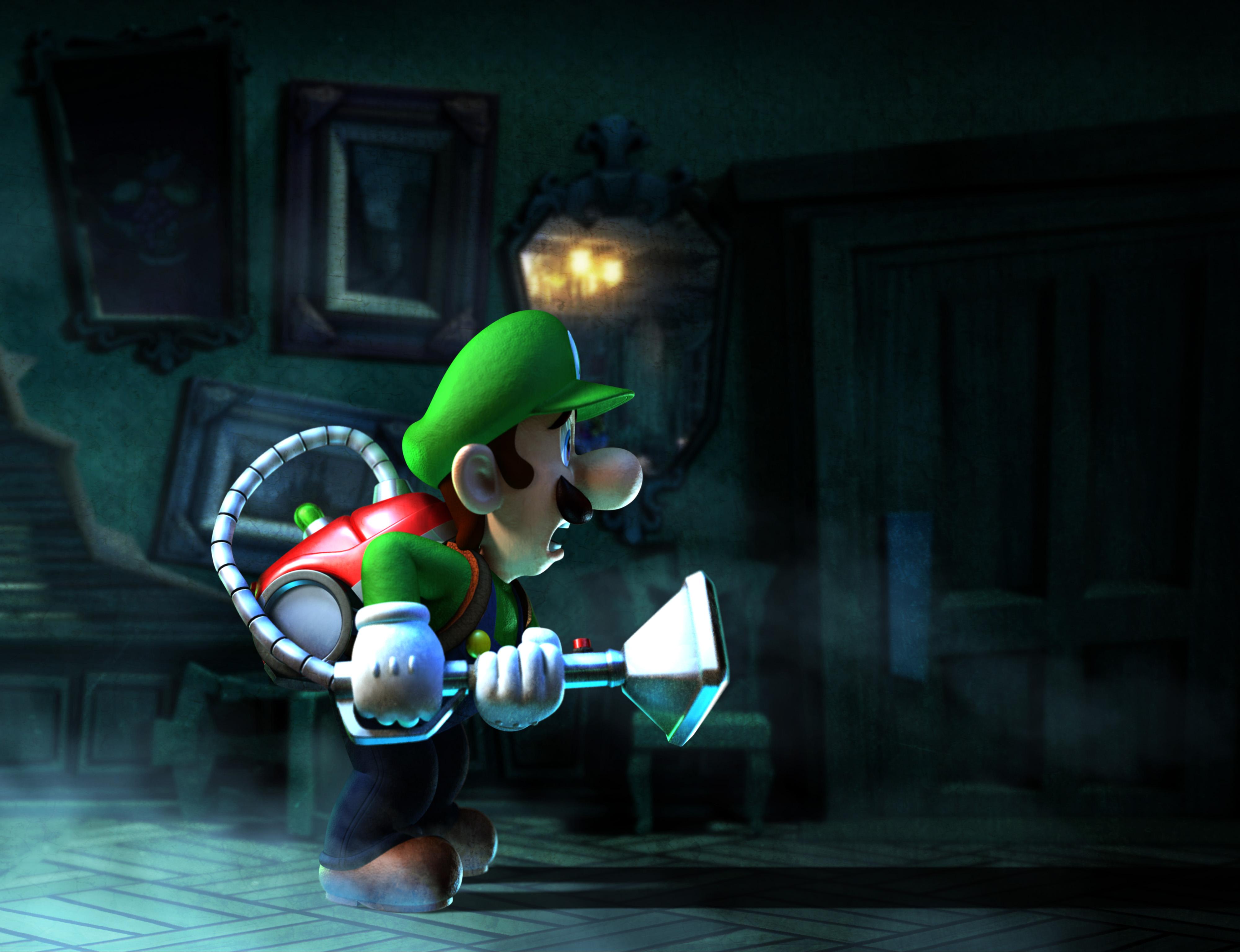 Luigis Mansion Dark Moon Wallpaper Hd Luigis mansion dark moon 4000x3072