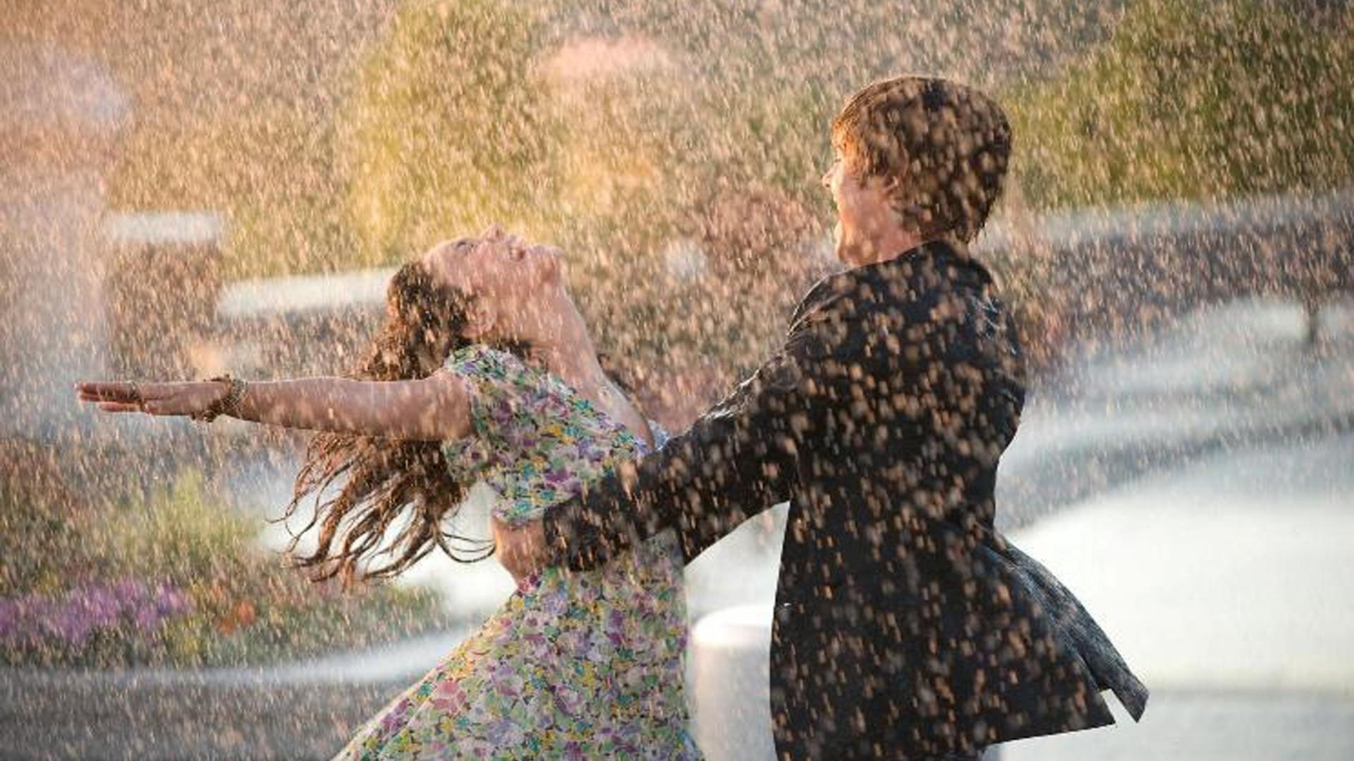 Couple Love Rain HD Wallpaper of Love   hdwallpaper2013com 1920x1080