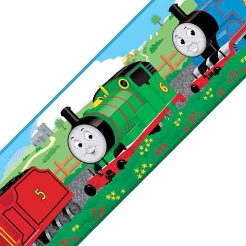Thomas the Train   Peel and Stick   Wall Border 506x506