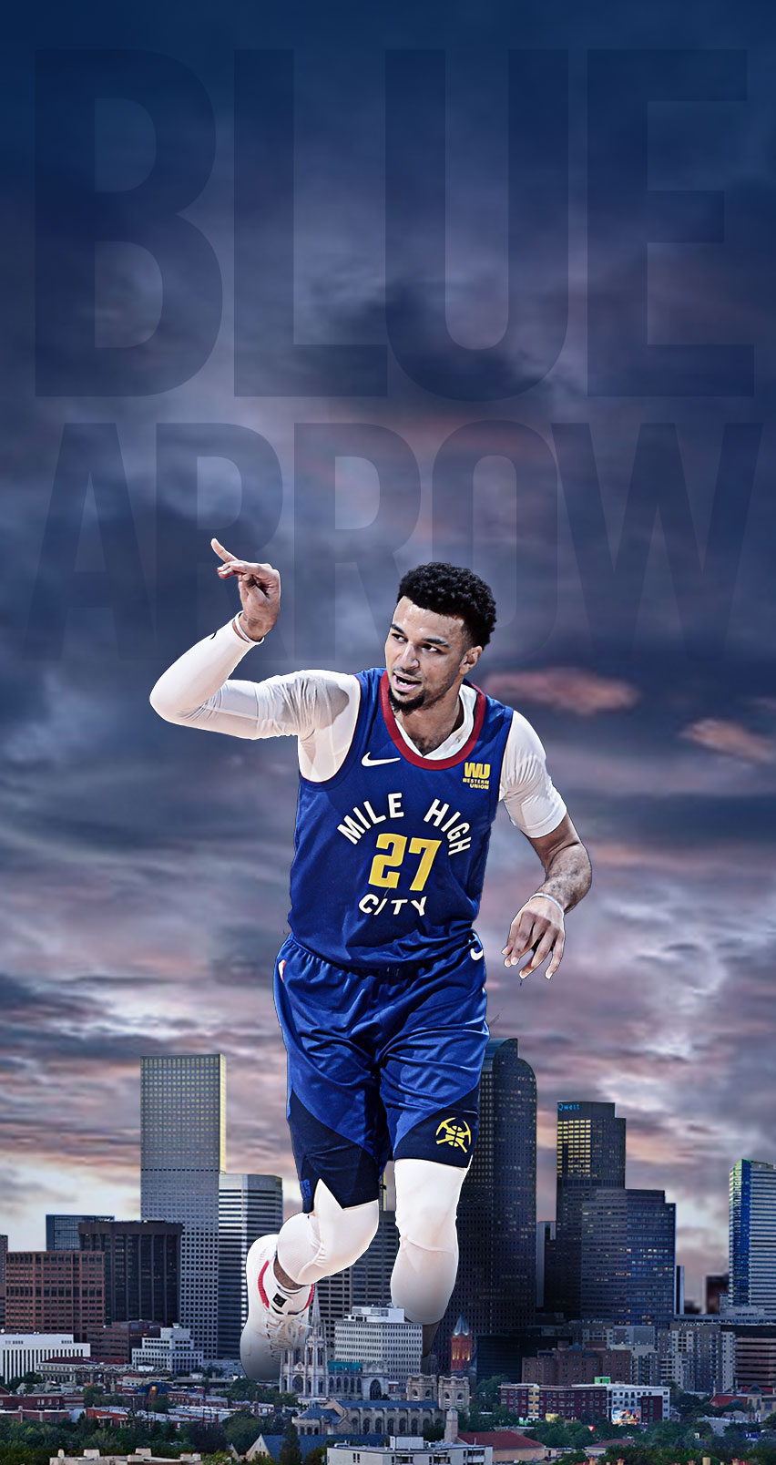 Wallpapers Denver Nuggets 852x1608
