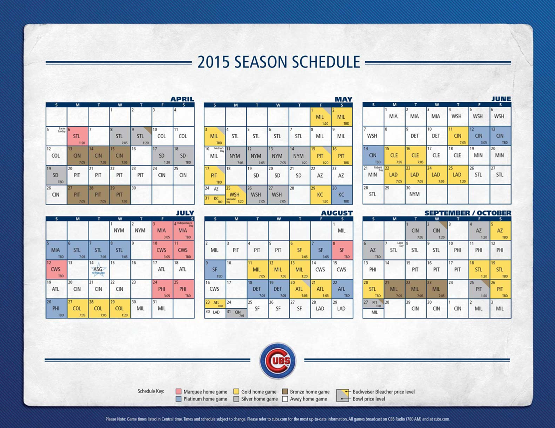 Cubs Release 2015 Ticket Price Tiers   Yahoo Sports 1111x858