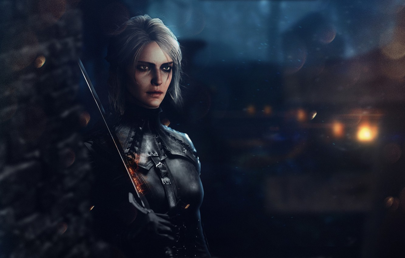 Wallpaper Girl Fantasy Art The Witcher The Witcher Witcher 1332x850