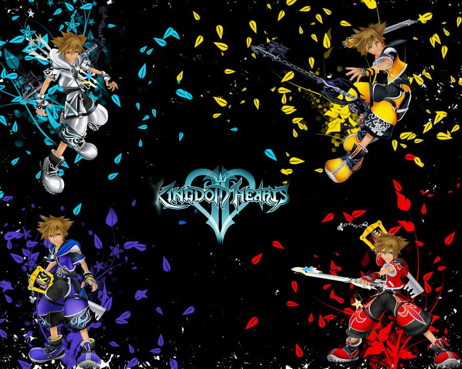 Kingdom Hearts 2 Wallpaper by efx88 900x720