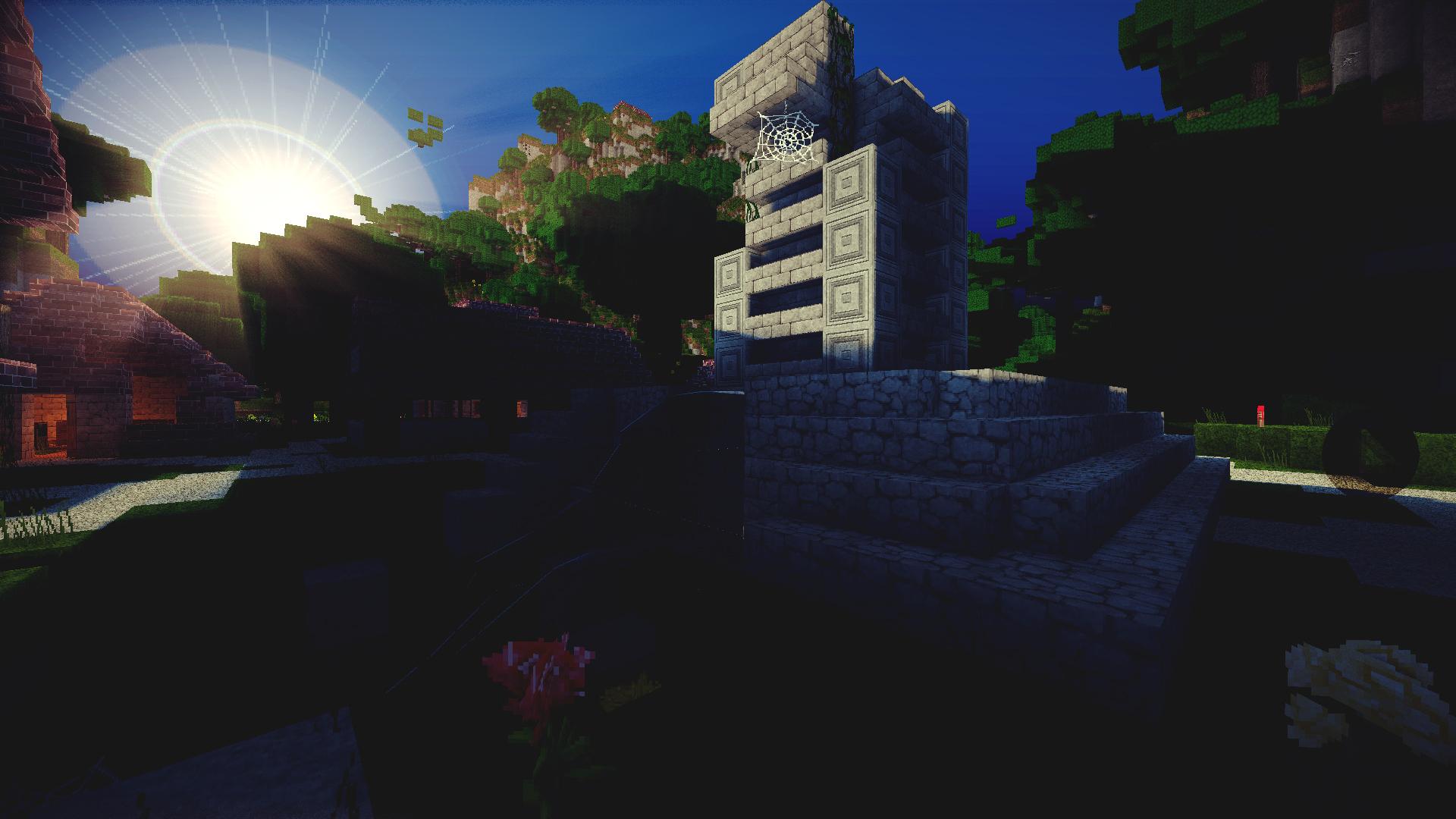 Minecraft Epic Ruine by lpzdesign 1920x1080