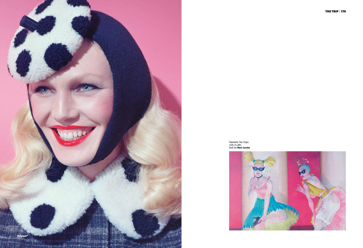 Wallpaper Magazine September 2011 Miles Aldridge Shirley Mallmann 5 1400x955