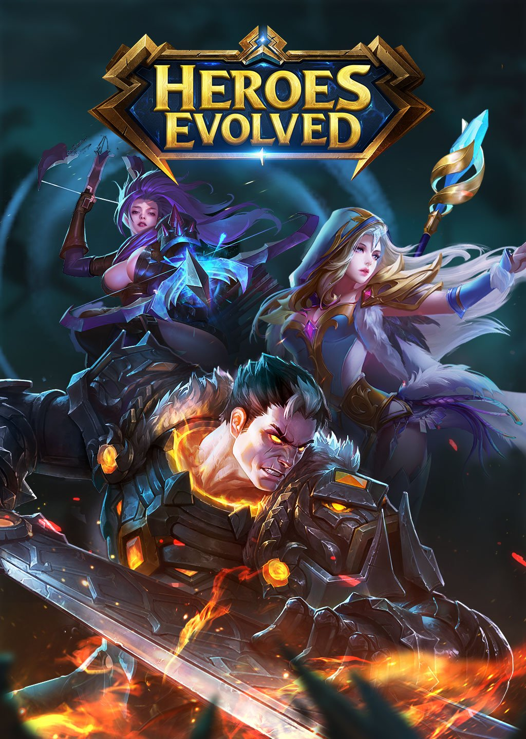Heroes Evolved 2017 Mobile Hero Brawler 1024x1440