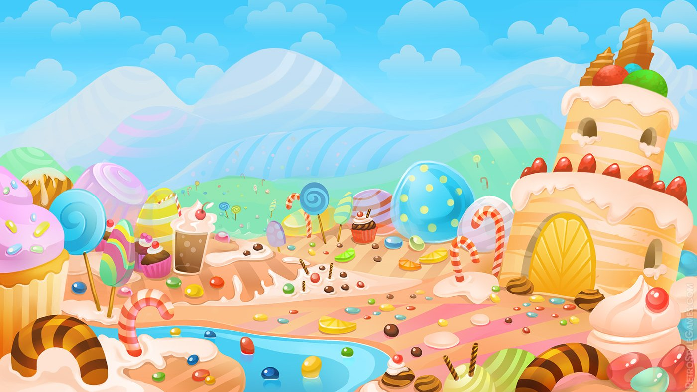 candyland wallpaper wallpapersafari