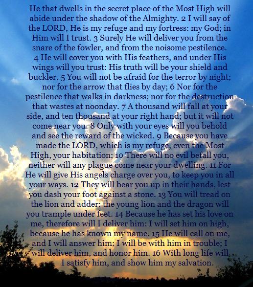 Psalm 91 Quotes QuotesGram 517x587