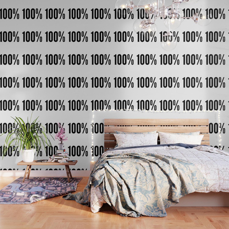 100 One Hundred Percent Wallpaper by azza1070 Society6 1500x1500