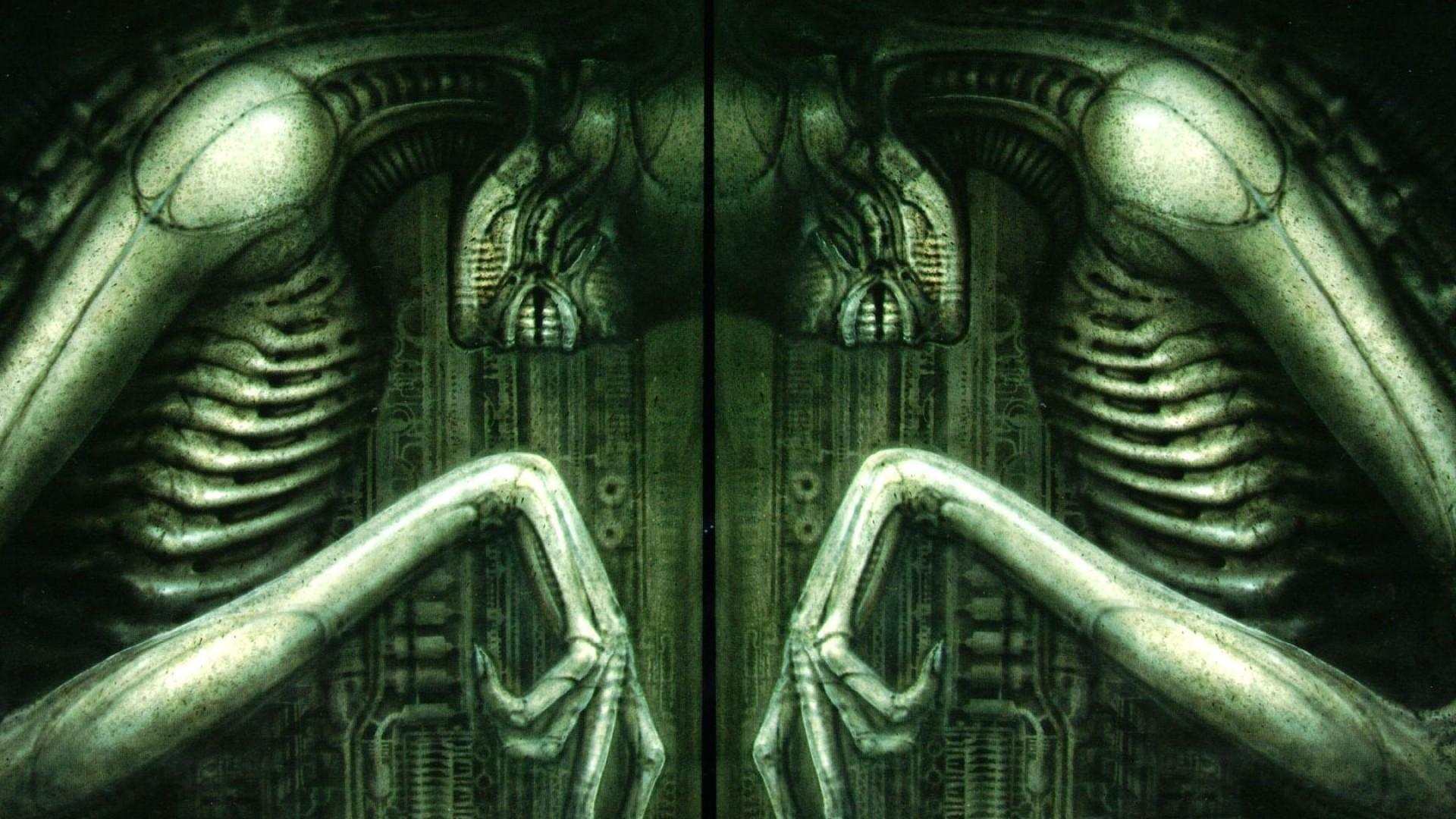 HR Giger Wallpaper 1920x1080  WallpaperSafari