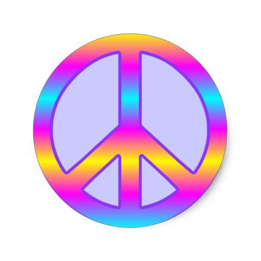 Colorful Peace Signs Wallpaper - WallpaperSafari