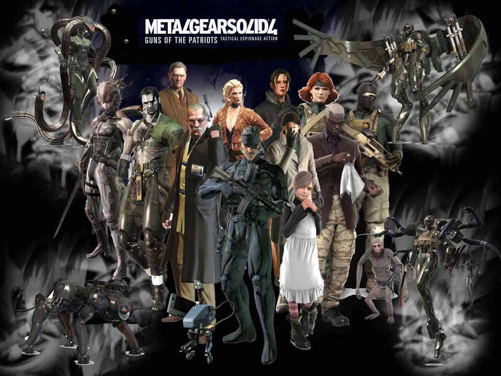 Free Download Metal Gear Solid 4 Game Wallpaper 1024x768 For