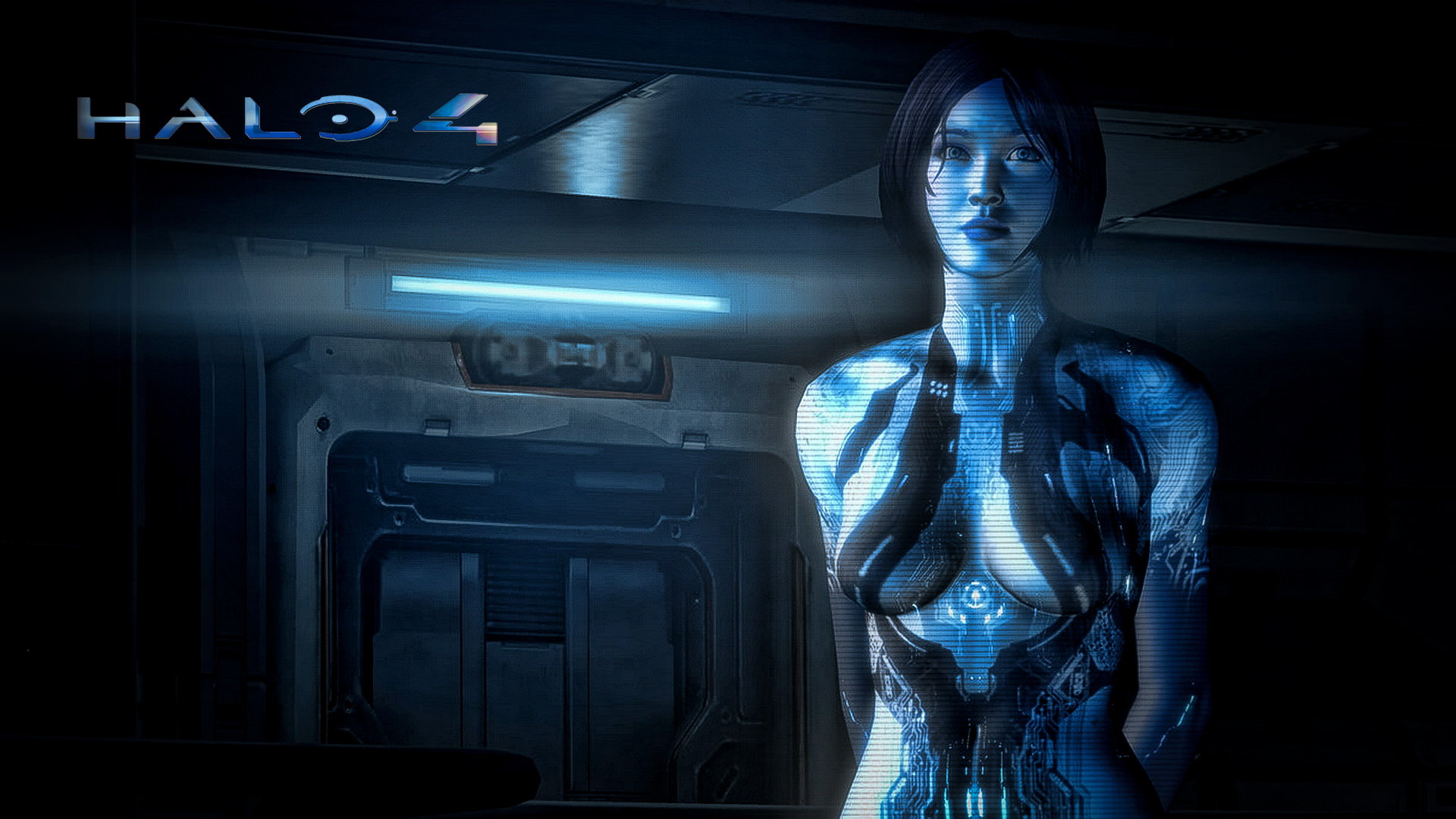 Cortana in Halo 4 Exclusive HD Wallpapers 5897 1920x1080