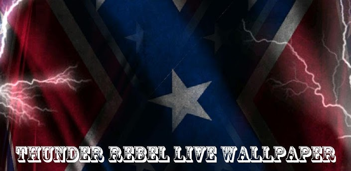 3D Rebel Flag Live Wallpaper Banner 705x344