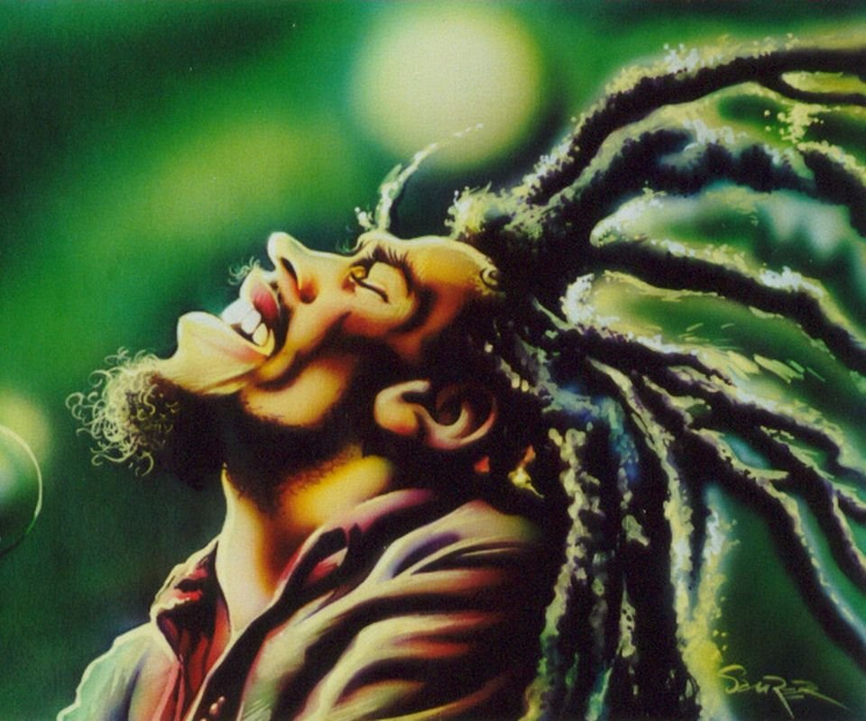 Free bob marley wallpaper downloads wallpapersafari - Rasta bob live wallpaper free download ...