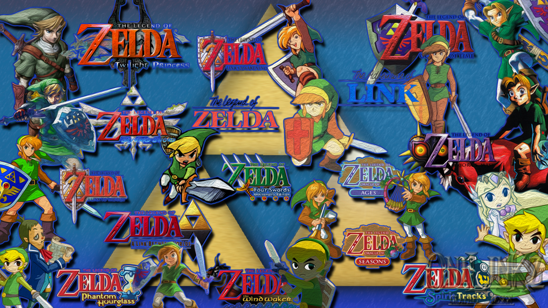 Zelda Wallpaper 1080p Links History By 0nilinkz 1920x1080