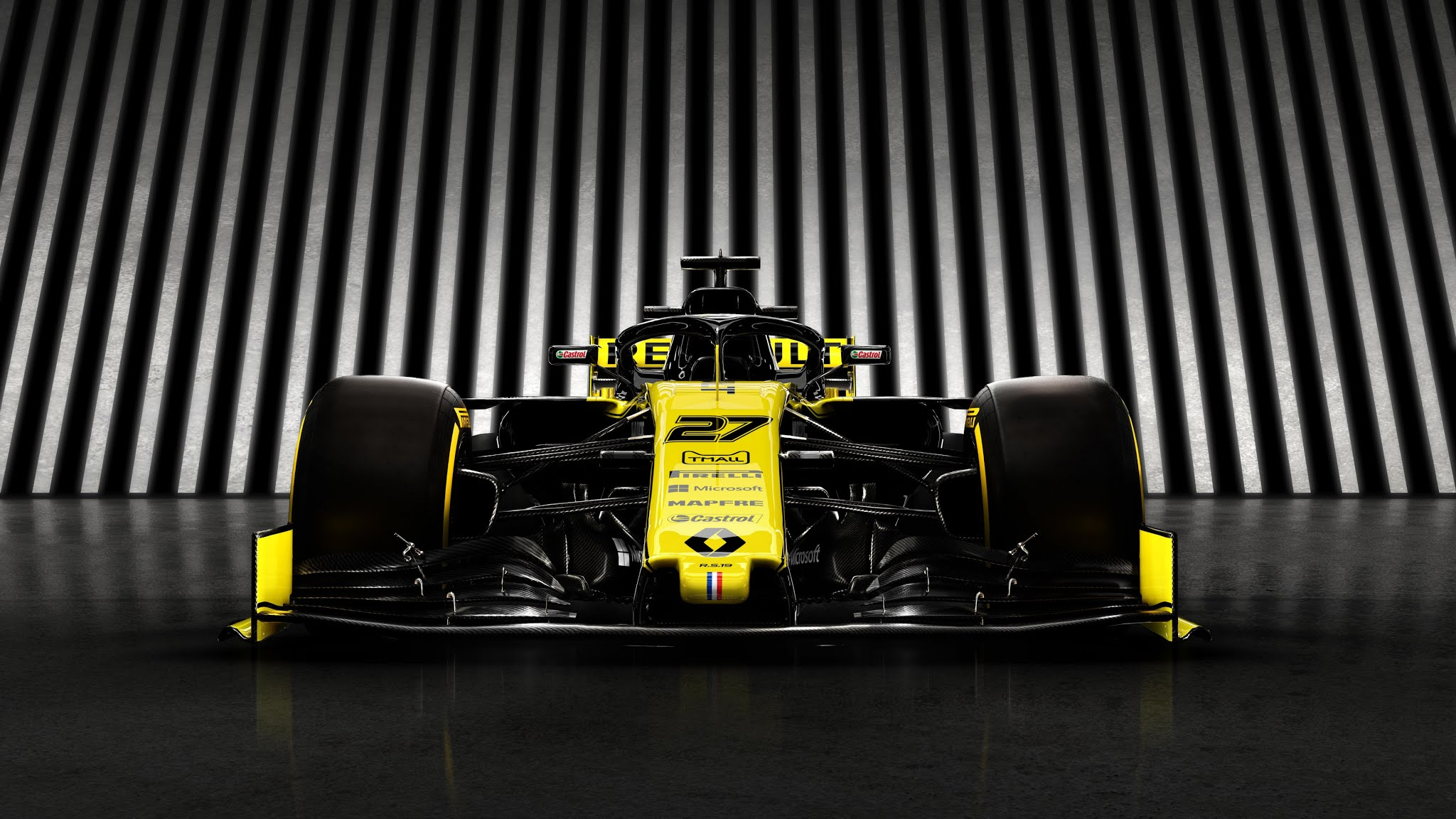 Renault RS 19 F1 2019 Wallpaper   XFXWallpapers   HD Wallpapers 2048x1152
