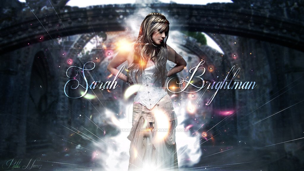 Sarah Brightman by staticdesings 1024x576