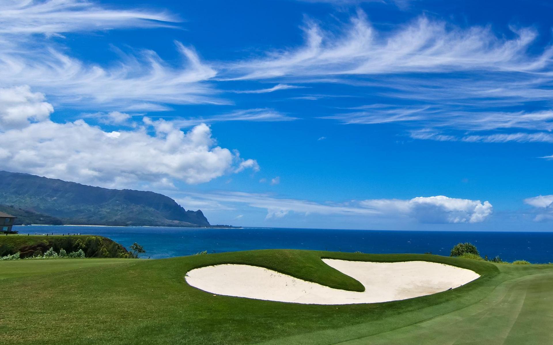 Bali hai golf course princeville kauai north shore hawaii HQ WALLPAPER 1920x1200