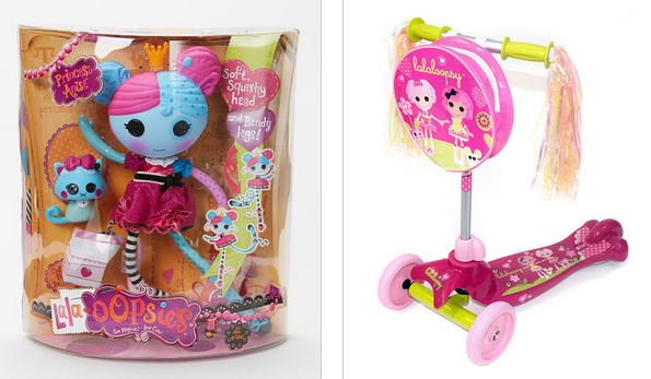 doll and scooter Up to 50 off Lalaloopsy Clothing Books and Toys 595x347