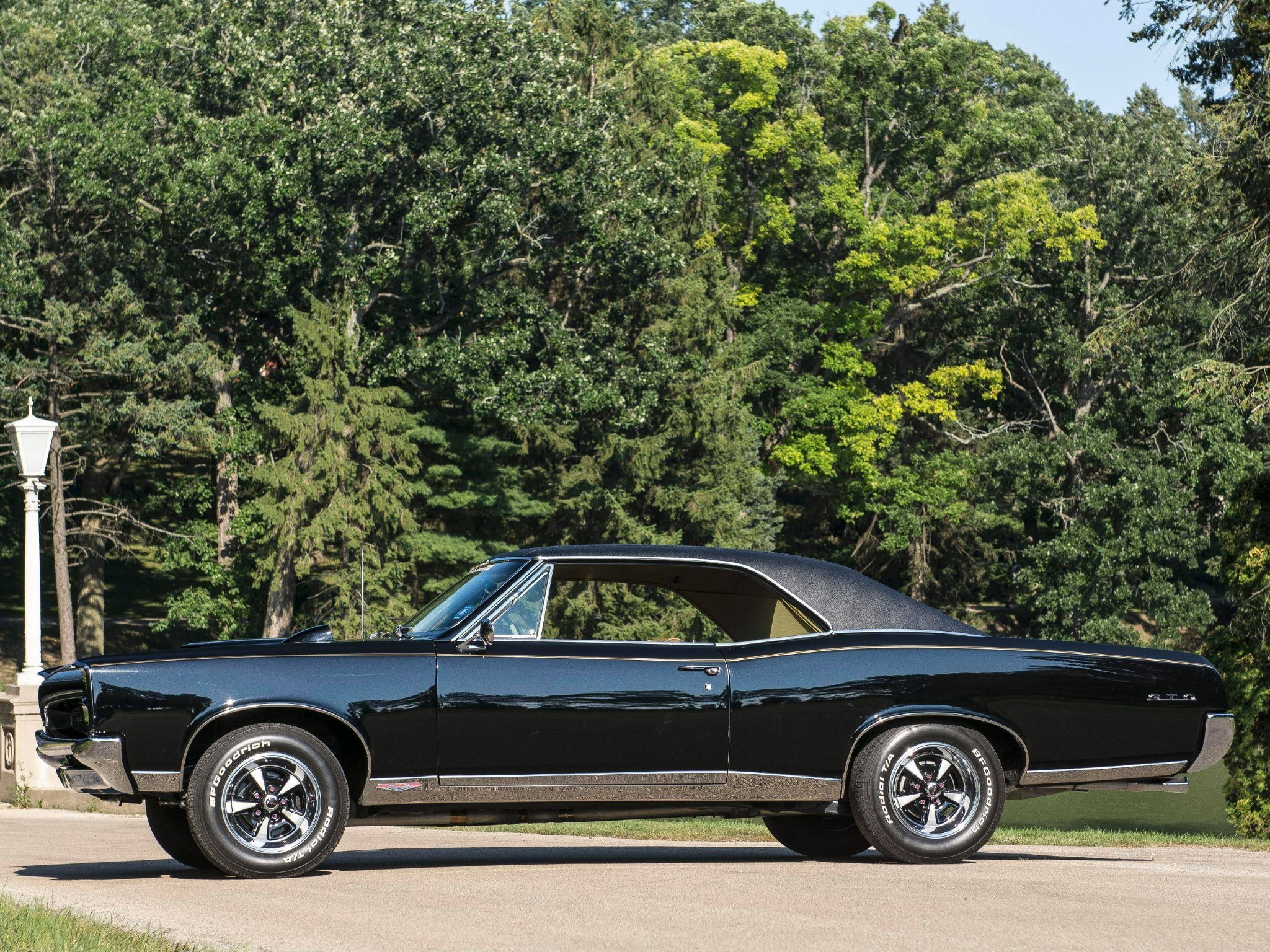 1967 Pontiac Tempest GTO Hardtop Coupe muscle classic f wallpaper 2048x1536