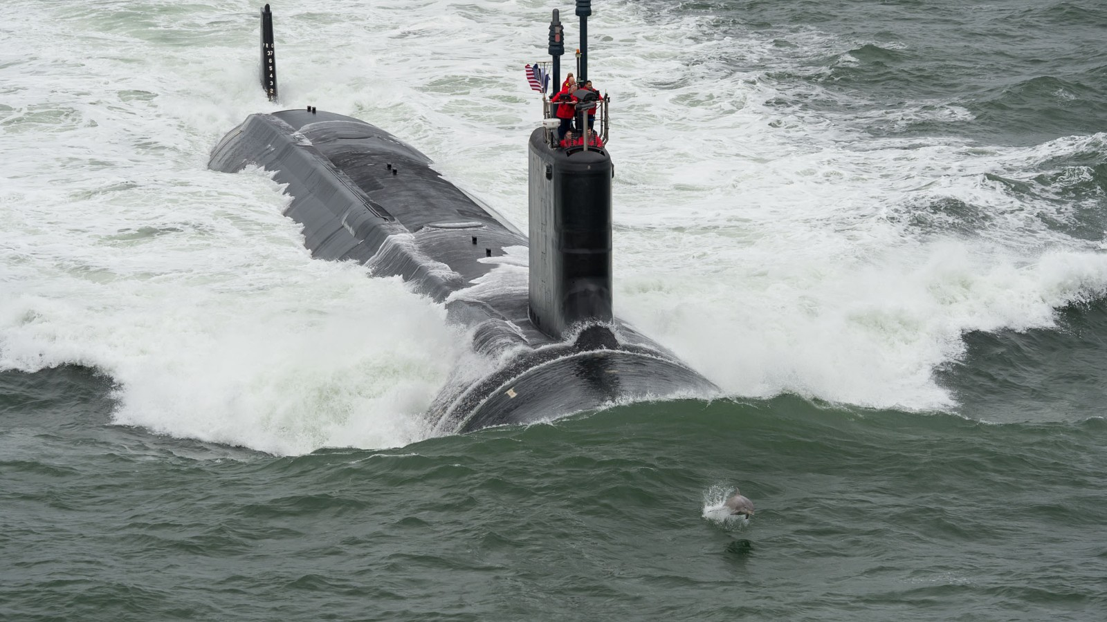 Navy gets attack sub USS Illinois sponsored by Michelle Obama 1600x900