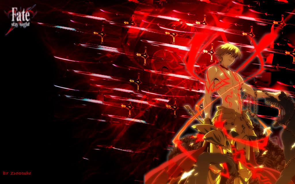 DeviantArt More Artists Like FateZero   Gilgamesh by Nyfaline 1024x640
