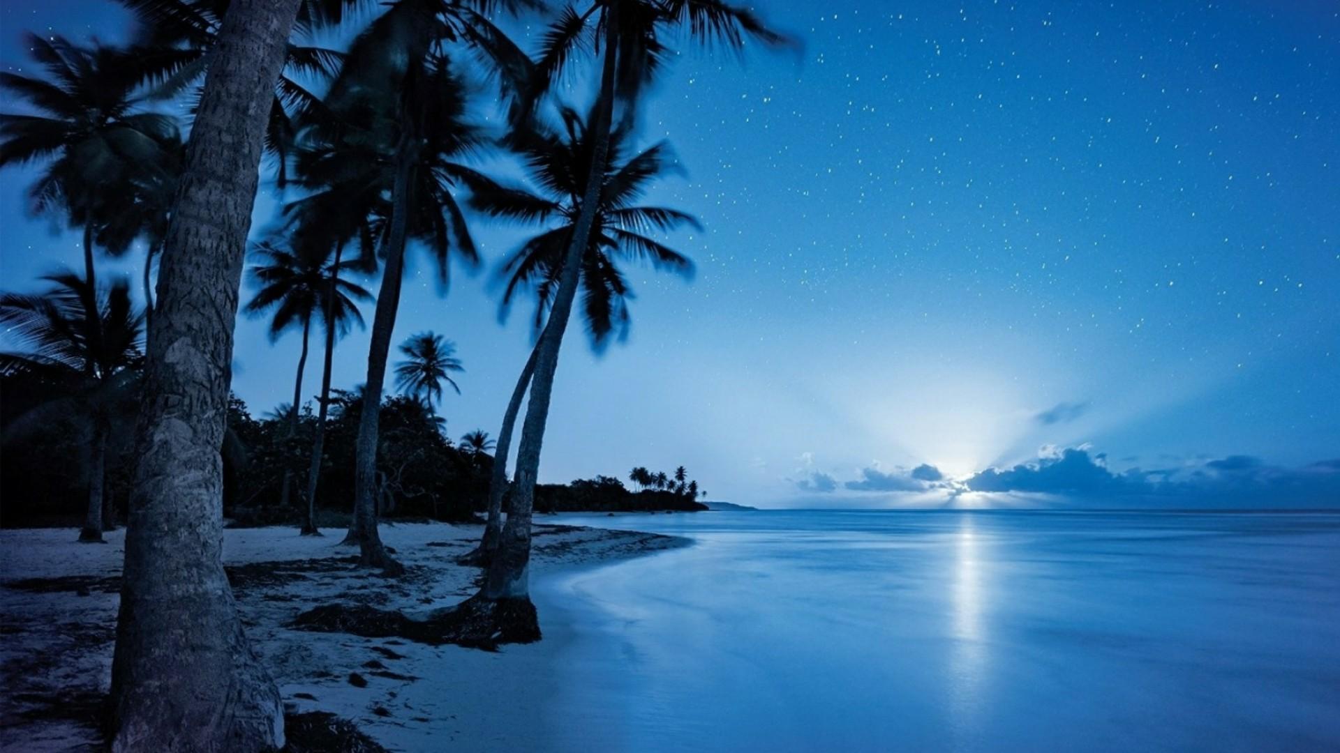 72 Night Ocean Wallpapers on WallpaperPlay 1920x1080